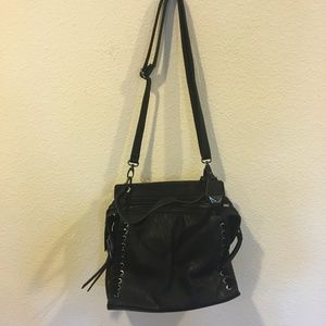 Jessica Simpson black crossbody purse